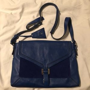 DVF Drew Connect Bag (Genuine Leather & Suede)